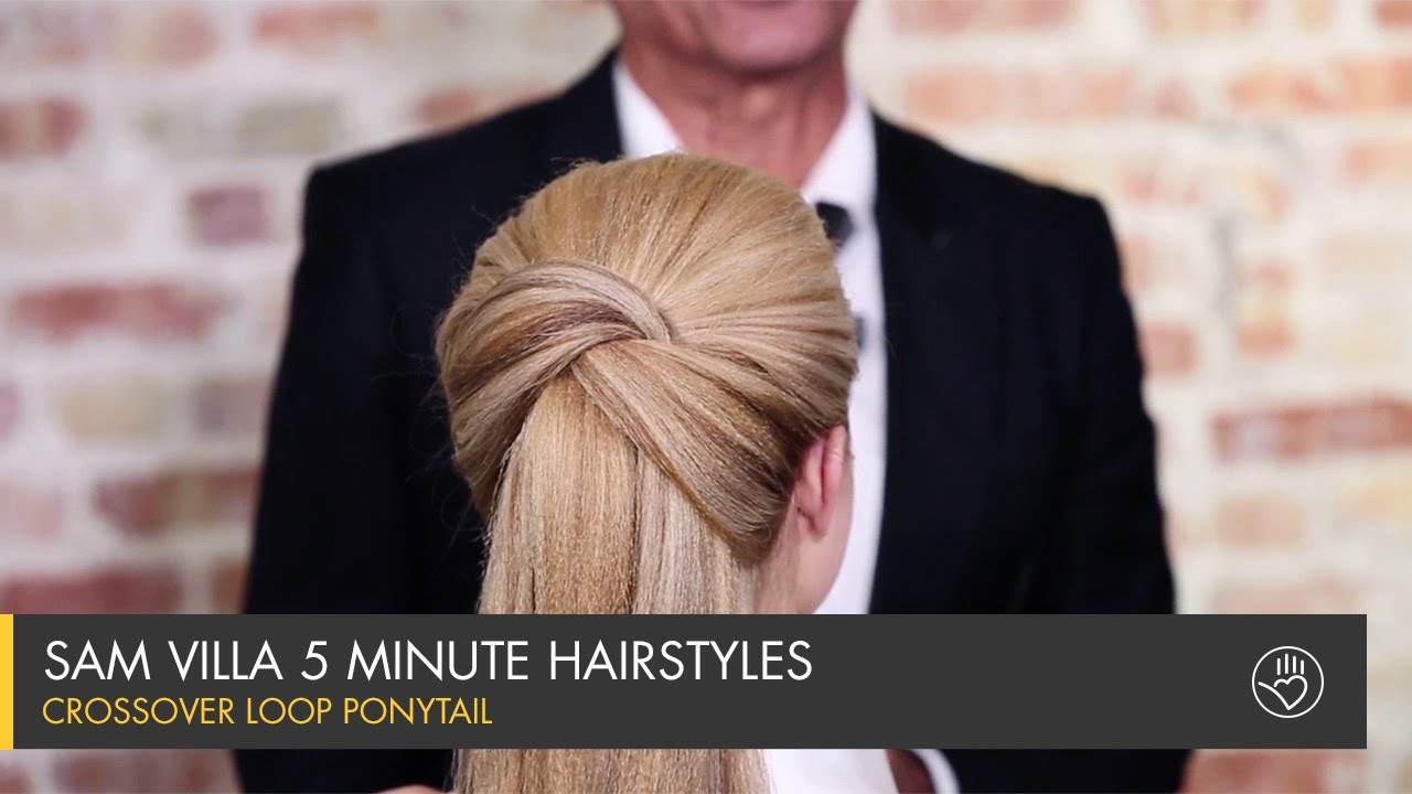 5 Minute Hairstyles Braids: Sam Villa 5 Minute Hairstyles