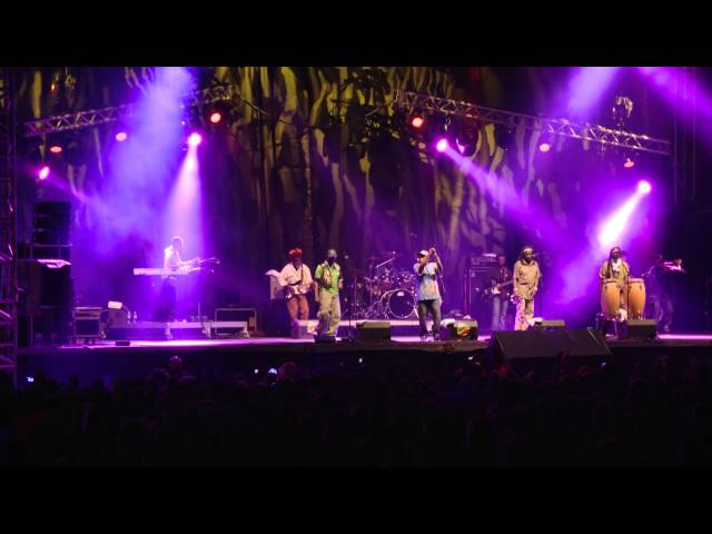 Black Roots Live at Reggae Sun Ska Festival 2015 18ème édition