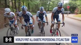 Changing Diabetes - Team Novo Nordisk - World's 1st all-diabetic pro cycling team