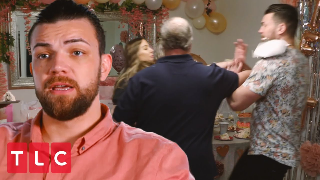 Jenn Throws Cake in Andrei's Face   90 Day Fiancé: Happily Ever After?