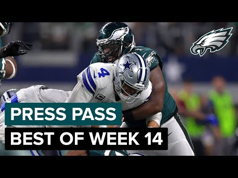 Fletcher Cox, Dallas Goedert, & More React to Week 14 Loss | Eagles Press Pass Compilation