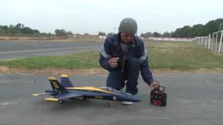 FA/18 Blue Angels 70mm EDF JET Flight Review in HD!