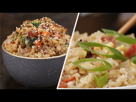 5 Yummy Recipes For Rice Lovers • Tasty