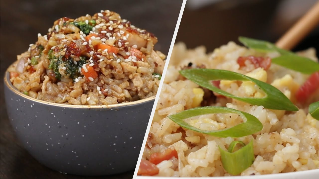 5 Yummy Recipes For Rice Lovers Tasty Youtube