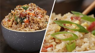 5 Yummy Recipes For Rice Lovers  Tasty