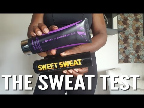 The Sweat Test| Gel-V vs Sweet Sweat| BEAUTYCUTRIGHTFITNESS