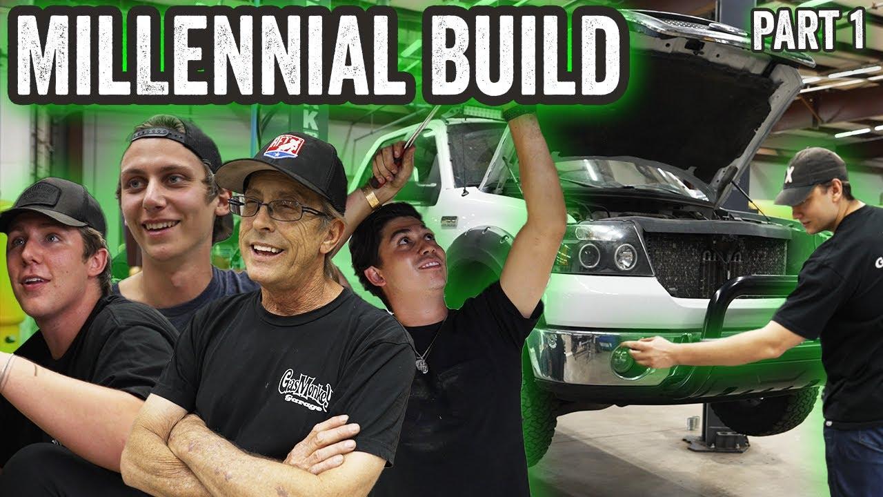 Can These Millennials BUILD A Truck?! - Gas Monkey Garage & Richard Rawlings