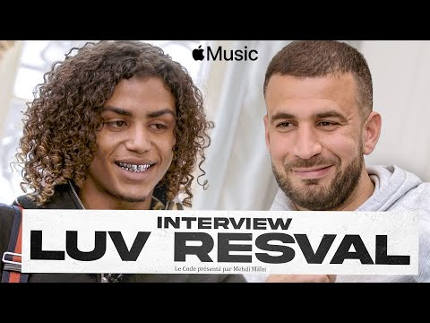 Youtube: Luv Resval, l'interview par Mehdi Maïzi – Le Code