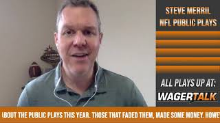 NFL Public Betting Report | Steve Merril's NFL Divisional Playoffs Betting Update