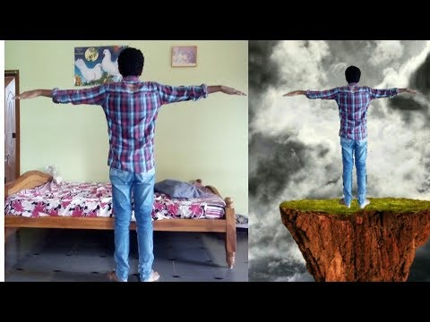 Flying background manipulation in PicsArt || edit like photoshop || picsart editing tutorials telugu