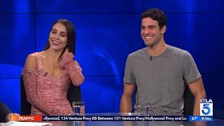 """Jenna Johnson & Joe Amabile on How they Can Win """"Dancing with the Stars"""""""