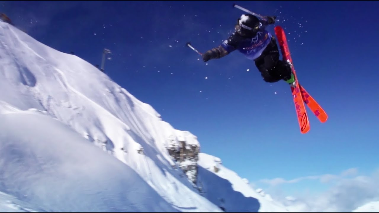 Red Bull Wallpaper Skiing Freeskiing Contest In