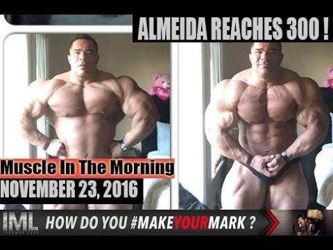 ALMEIDA REACHES 300! - Muscle In The Morning November 23, 2016