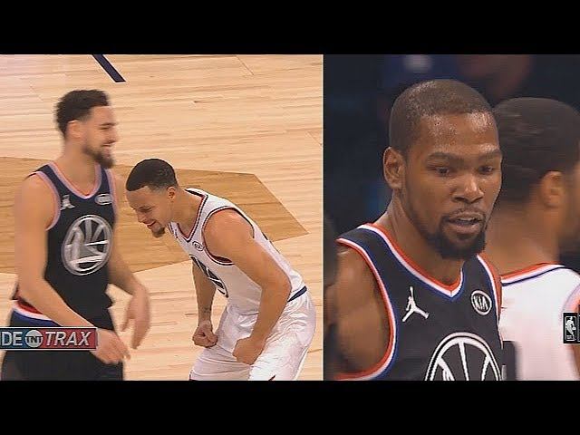 Stephen Curry Shuts Down Kevin Durant & Klay Thompson Then Gets Hyped!