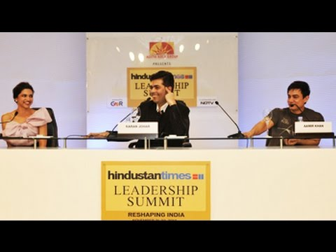 Aamir and Deepika in conversation with Karan Johar
