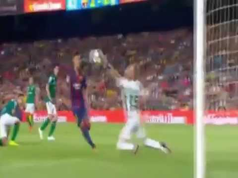 FC Barcelona vs Club Leon 6-0 اجمل هدف لنيمار NEYMAR