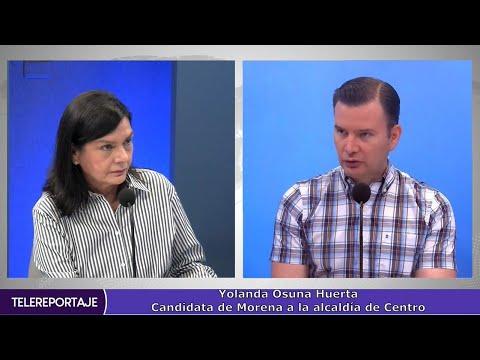 Defenderá Yolanda Osuna su triunfo en Centro