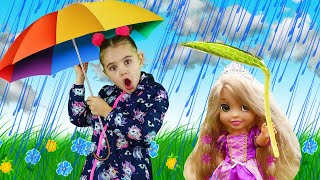 Rain Rain Go Away Song | Nick and Poli Sing-Along Nursery Rhymes Kids Songs