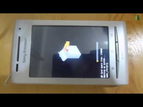 how to root and install xrecovery + costom Rom on xperia x8