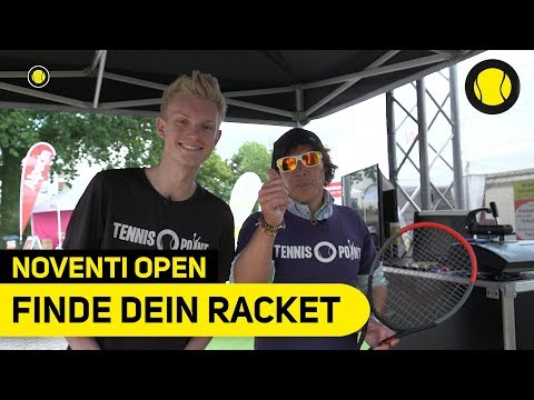 Finde deinen perfekten Tennisschläger | Noventi Open | Tennis-Point