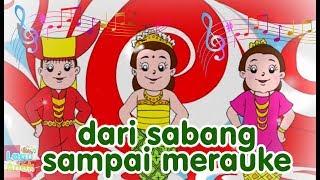 Dari Sabang Sampai Merauke | Diva Bernyanyi | Lagu Anak Channel