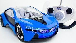 Распаковка МАШИНКИ BMW I8 VISION на радиоуправлении. Мультик про гоночную машину.  Мультфильм(Распаковка МАШИНКИ BMW I8 VISION на радиоуправлении. Мультик про гоночную машину. Мультфильм https://youtu.be/jY8IOmmOH6w..., 2016-07-20T18:49:04.000Z)