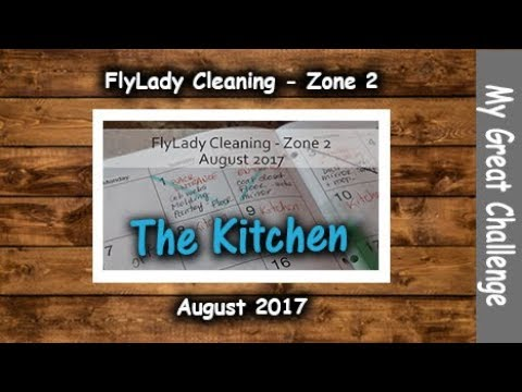 FlyLady Cleaning || Zone Two || August 2017