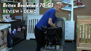 Britax Boulevard 70-g3 Convertible Car Seat Review And Demo | Cloudmom