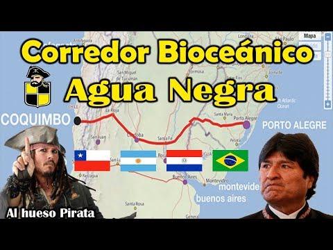 CHILE ARGENTINA BRASIL PARAGUAY CORREDOR BIOCEÁNICO CENTRAL REGION DE COQUIMBO