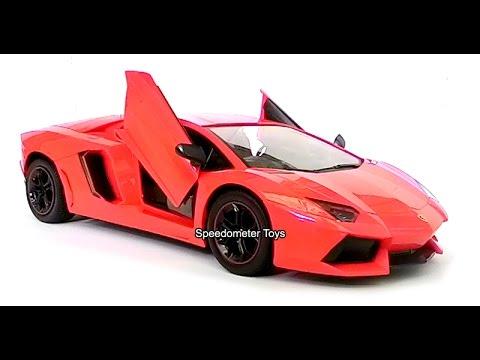 Jual Mainan RC Mobil Lamborghini Aventador Skala 1/12