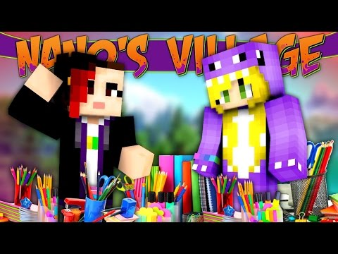 MINECRAFT MODS - Stationery Party! [Nano's Village]
