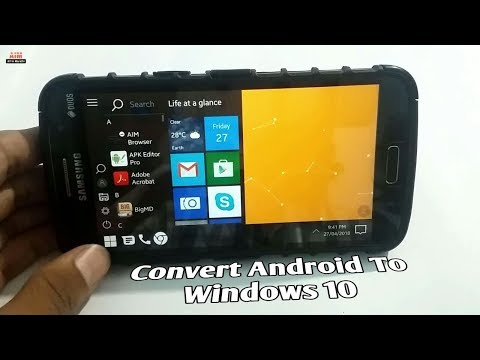 Convert Android To Windows 10