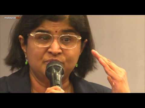 Asia Calling forum: Ambiga: There is zero political will to eradicate corruption