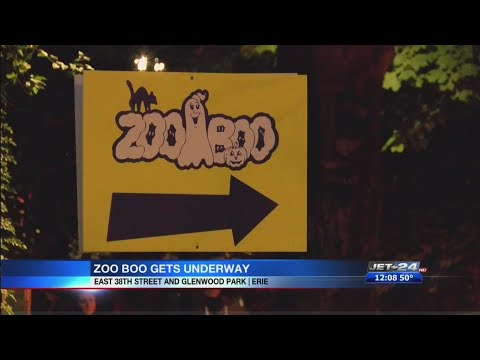 ZooBoo Now Open For The Halloween Season At The Erie Zoo