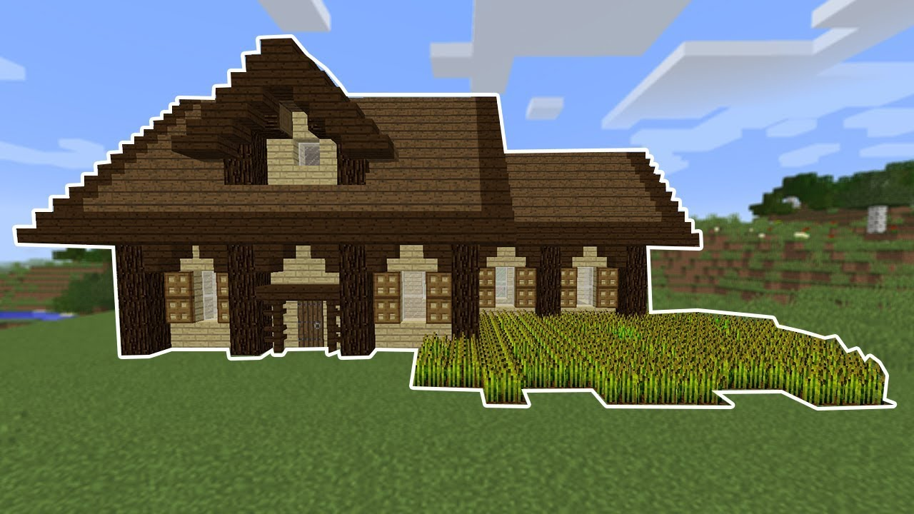 Minecraft Simple Wooden House Tutorial