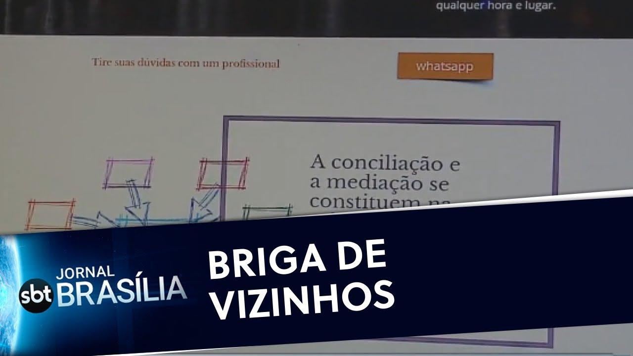 Ferramenta promove conciliação em condomínios | Jornal SBT Brasília 24/04/2020