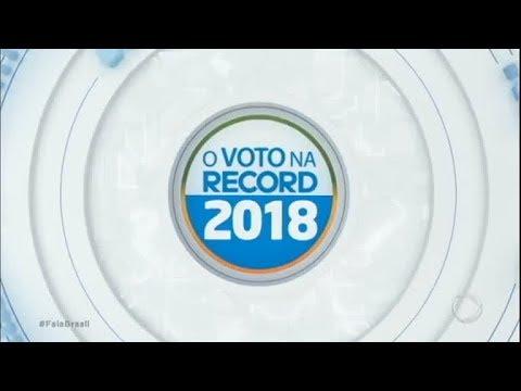 Record TV entrevista candidatos a presidência da república