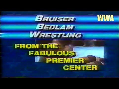 WWA Bruiser Bedlam Wrestling (Aug 2, 1986)