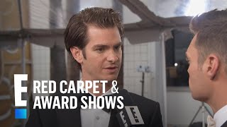 Andrew Garfield Talks Huge 2017 Golden Globes Nomination | E! Live From The Red Carpet