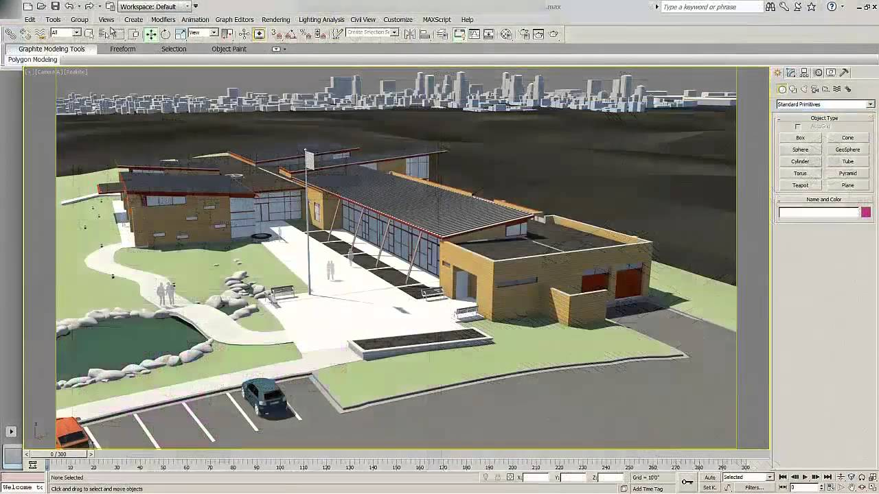 Revit 2015 and 3ds max design 2015 youtube 3d site