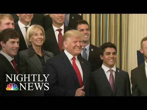 Democrats Hoping To Hold Impeachment Vote Before Christmas | NBC Nightly News