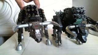 Zoids Grand Bison Versus Original Motorized Dibison Zoid Model Kit