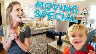 ELLIE AND JARED'S MOVING DAY SPECIAL! 🏡