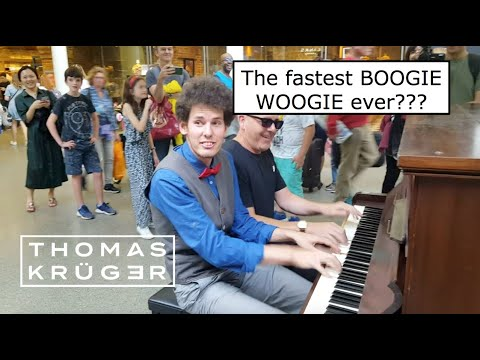 THOMAS KRÜGER & BRENDAN KAVANAGH – The Fastest BOOGIE WOOGIE Ever???