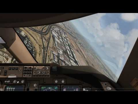 Cockpit 747 Emergency Landing Phoenix Engines Fail