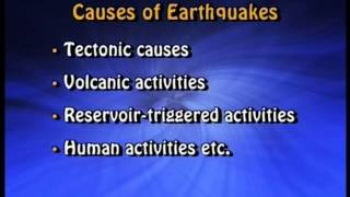 Earthquakes and Disaster Management