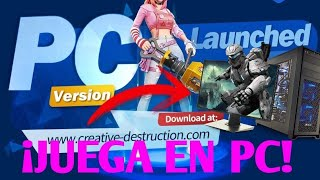 ✔️DOWNLOAD AND PLAY COPIA DE FORTNITE FREE ON PC! - CREATIVE DESTRUCTION OFFICER[FORTCRAFT]