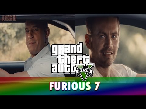GTA 5 Online Tagalog Trip: Furious 7 (with BLOOPERS!)
