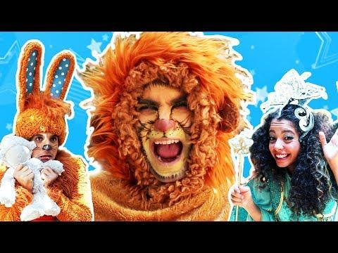 Saltarina y Conejo - El león asustado