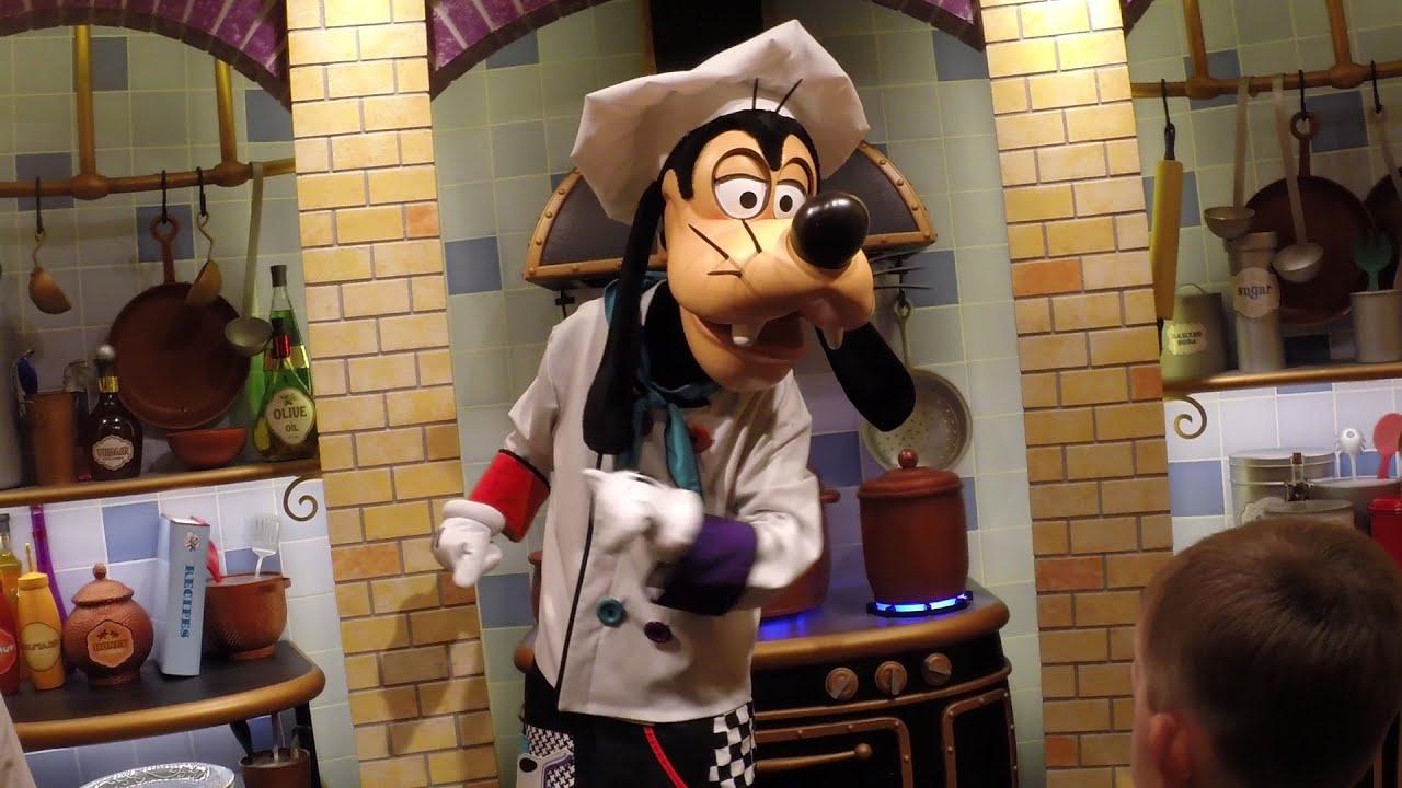 Goofy\'s Kitchen: Menu, Characters, Food, and Fun! - YouTube